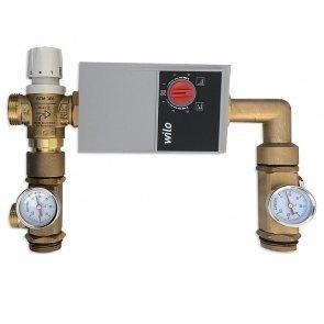 Układ mieszający 210 lub 235mm z zaworem termostatycznym z pompą Wilo