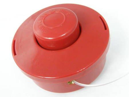 Głowica czerwona z żyłką do kosy