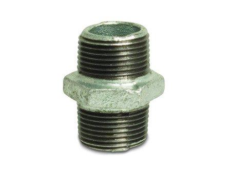 Nypel ocynk ocynkowany złączka 2 cale